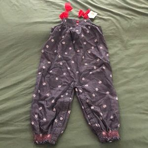 NWT Gymboree chambray romper - 18-24 months